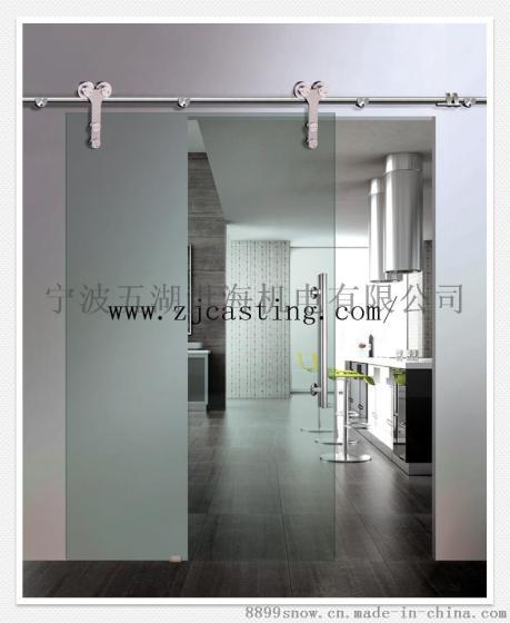 谷仓门厨房门玻璃门室内门隔断门推拉门套装卫浴门欧美式移门吊轨出口