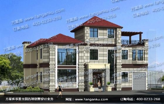 农村两层半自建房设计 农村别墅设计公司