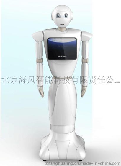 北京海风科技仿人型迎宾机器人图片,北京海风科技仿人型迎宾机器人