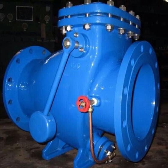 供应hh44x节能型微阻缓闭消声止回阀工作原理图片