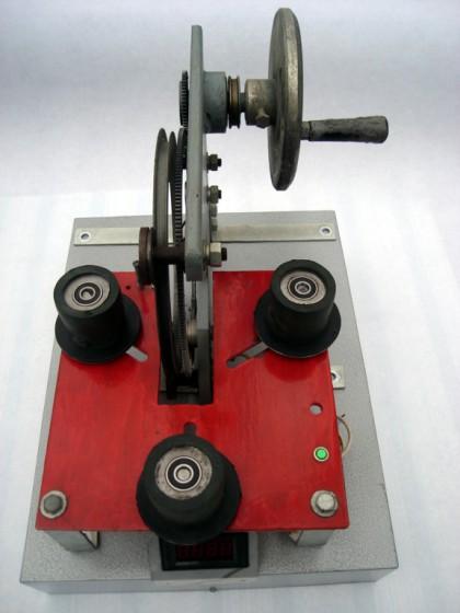 绕制机图片_手动环形绕线机