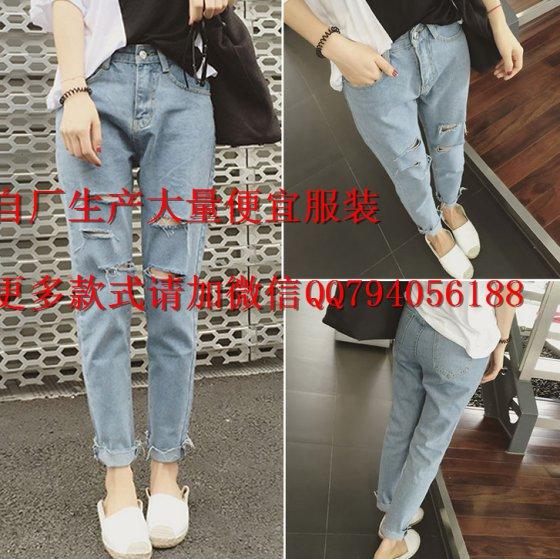服装饰件 裤子 牛仔裤 广州哪里有称斤牛仔裤批发 特价尾货清仓便宜库