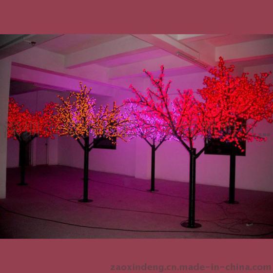 台湾厂家直销led樱花树 发光景观装饰花树灯 室内景观led树灯