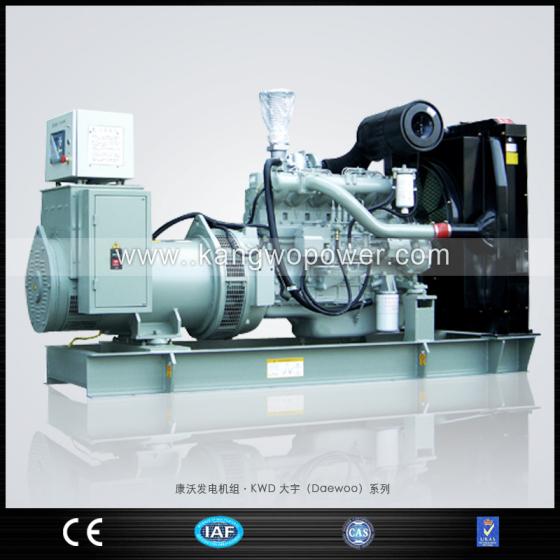 康沃直销 进口发电机组 韩国大宇系列 原装进口发电机组厂家 400kW高清图片