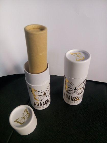 精细化妆品包装用可伸缩纸罐,推伸包装纸罐,创意包装图片
