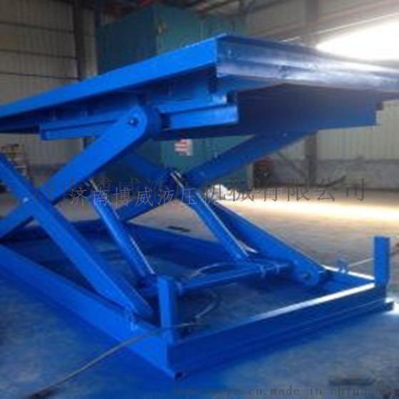 工厂直销升降货梯 液压升降机 液压固定式升降平台图片