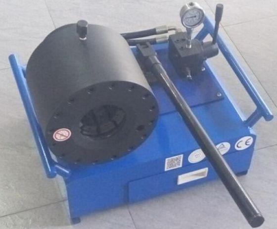 手动液压便携式压管机扣压机图片