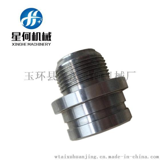cnc机械加工不锈钢本色宝塔接头, 水管管件接头, 软管