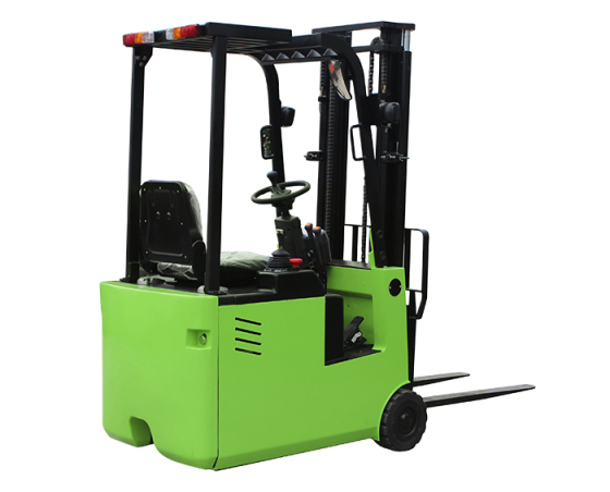 三支点座驾式全电动叉车/三轮电动堆高车/升高车/堆垛车