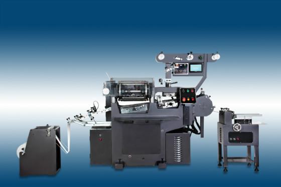 印刷机囹�a_jx240金鑫高速多功能商标印刷机