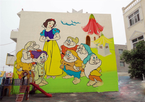 四川幼儿园彩绘