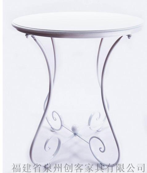 小圆桌休闲小茶几角几阳台咖啡桌子欧式沙发边几简约