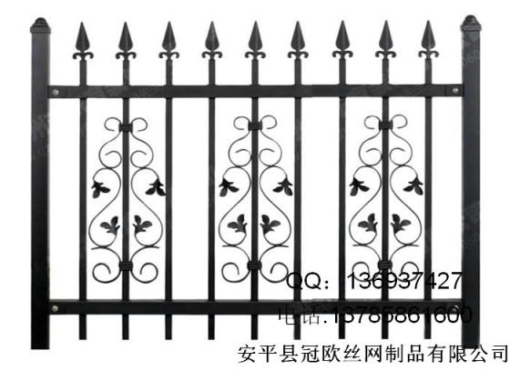 别墅围栏锌钢围墙护栏栏杆铁艺庭院小区外墙栅栏