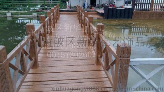 木栅栏片-栏杆 仿木 混凝土 模具