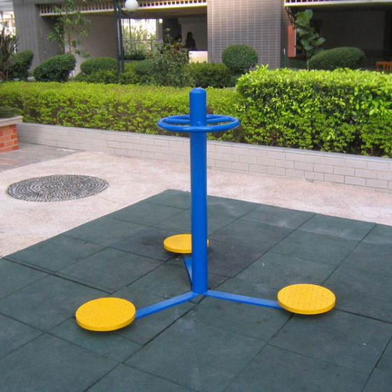 公园健身器材_室外健身器材三人转腰器公园小区健身路径三人扭腰器