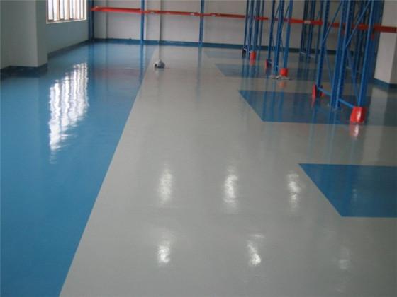 以前厂房车间地板刷的环氧树脂地面漆的油污怎么清洗掉 科学技术图片