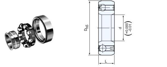 单向轴承(csk205)