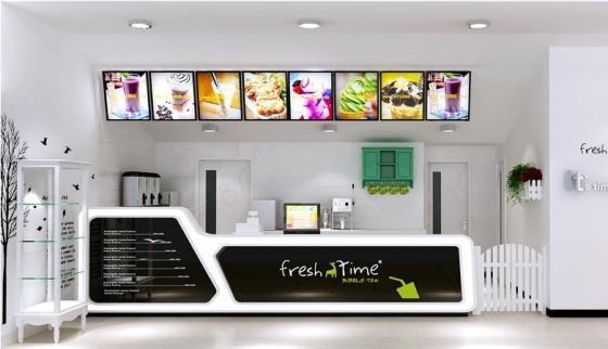南昌奶茶店装修,珍珠奶茶店装饰,水吧装修设计效果图