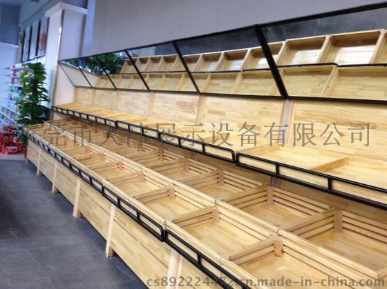 大沣货架 DF 149专卖店货架展柜水果木货架展示设备进口商品食品图片