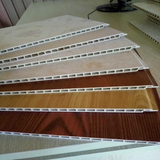 竹木纤维集成装饰墙板,环保集成墙面,室内集成材料,厂家批发!图片