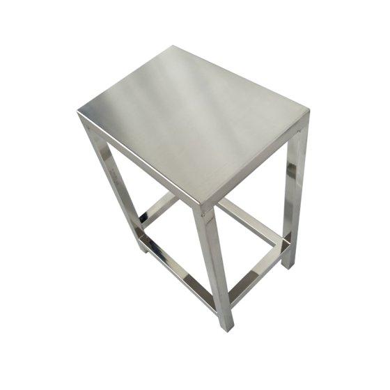 不锈钢双封满焊方凳无尘车间凳子图片