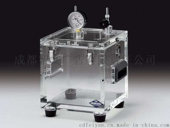 定做有机玻璃真空箱pmma透明真空干燥箱亚克力抽真空实验箱活动隔板图片