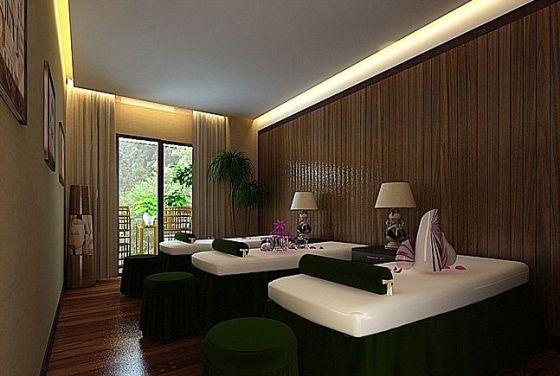 南昌spa装修 spa养生会所装修 美容spa装修设计效果图图片,南昌spa