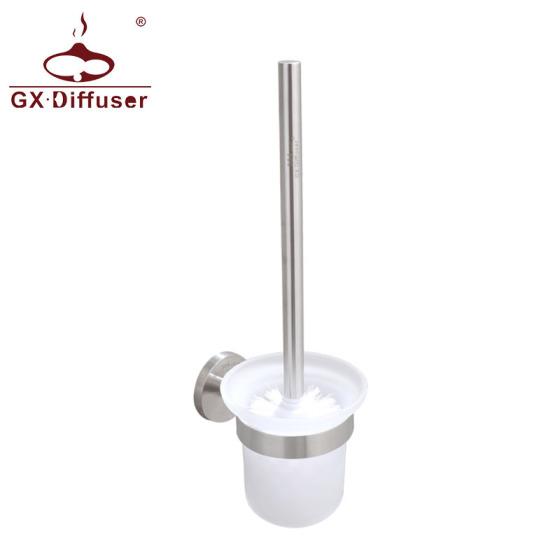 304不锈钢马桶刷 玻璃杯套装 厕所刷架刷子 浴室 卫生间清洁刷 厂家直销GX-LS5213