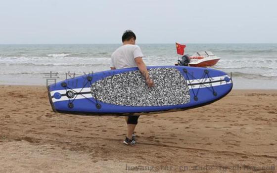 青岛厂家 充气冲浪板