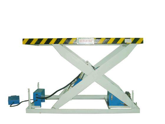 5kw|整机重量:1200kg|适用范围:板材,纸张|型号:3t液压升降台|商标:豪图片