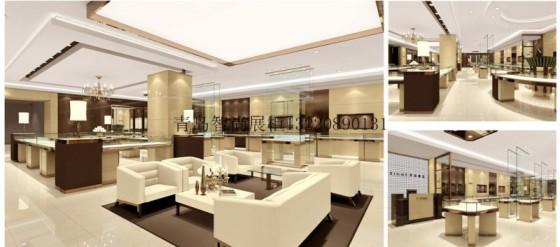 承接青岛地区各大商场店铺设计装修