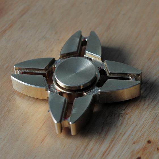 黄铜CNC加工指间陀螺五金配件、零件加工