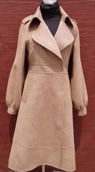 双面呢手工羊毛大衣
