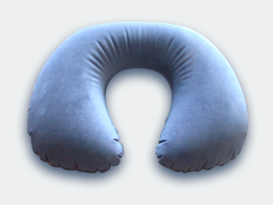 PVC吹气枕头