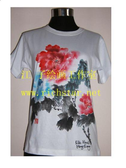 手绘t恤图片,手绘t恤高清图片-深圳市瑞新达实业有限