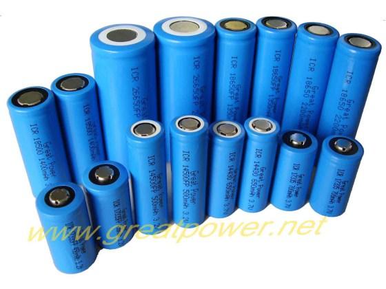 捷威圆柱型锂电池及电池组图片