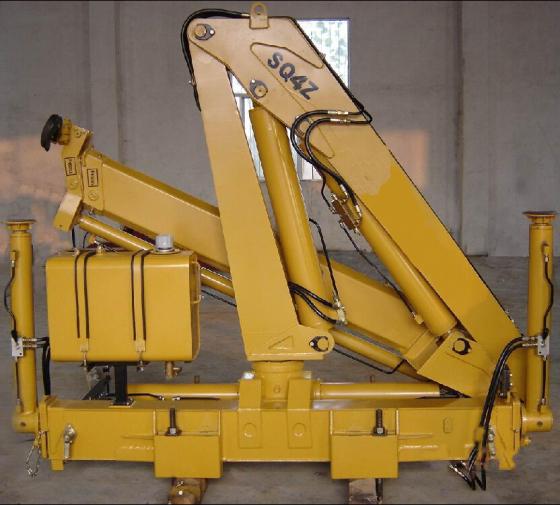 4吨折叠臂吊机配置,液压起重机厂家图片