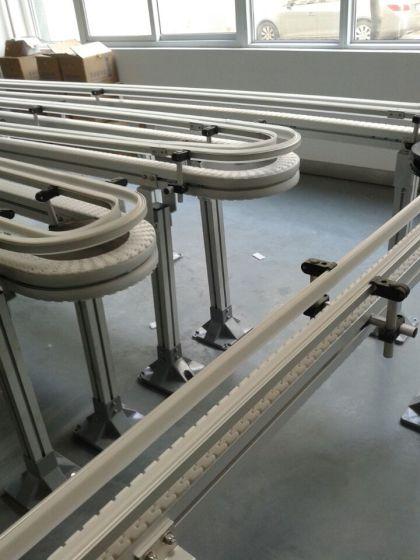 上海传进v设备设备链180度转弯输送机柔性雪纺高档图片真丝缎面图片