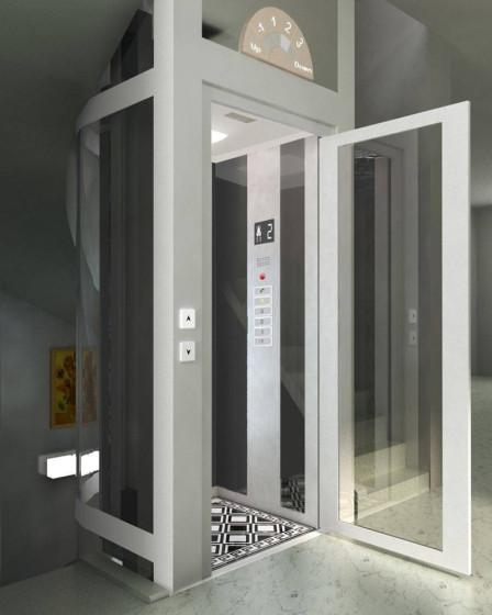 小型电梯别墅别墅家用螺杆液压v电梯电梯电梯家用南京电梯知乎图片
