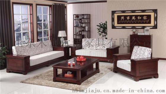 专业加工定制禅意实木沙发黄菠萝药木实木家具