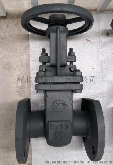俄标闸阀-碳钢阀体-公称压力pn16图片