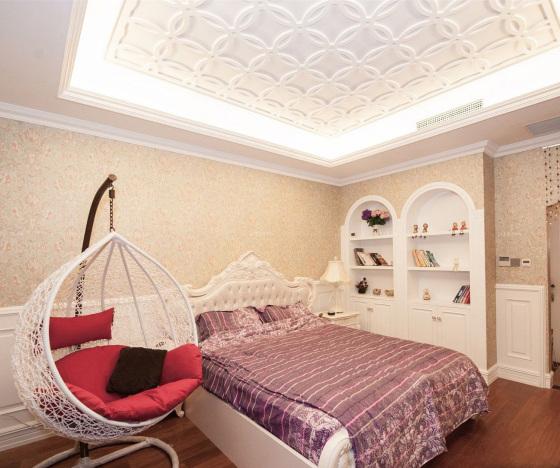 吊顶塑料扣板卧室图片塑料扣板二级吊顶图片12
