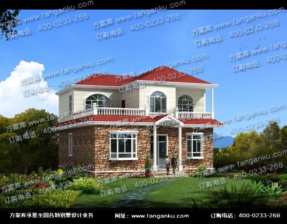 农村两层小别墅房屋设计图
