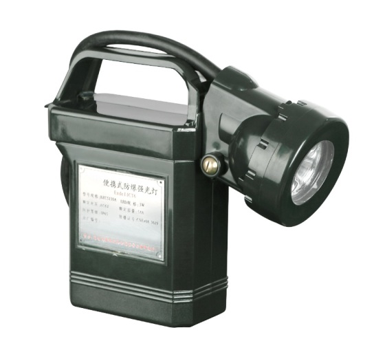 海洋王iw5100gf便携式强光防爆工作灯图片