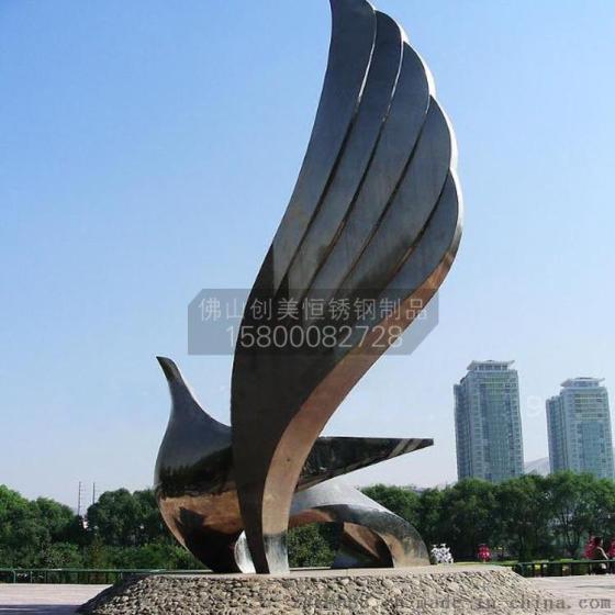 定制不锈钢 科技 户外雕塑 尺寸造型可定制
