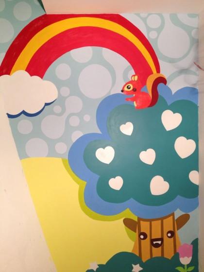 幼儿园楼体装饰,幼儿园卡通彩绘,幼儿园楼体彩  您正在查看北极商业