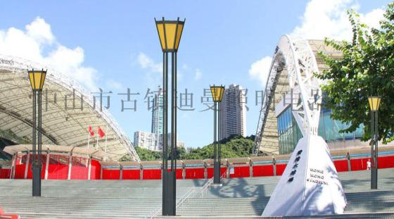 新古典方柱景区景观灯 户外小区创意造型街道路灯图片,LED新古典图片