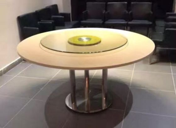 罗湖区大理石餐桌 包房圆桌 8人圆桌要多大?
