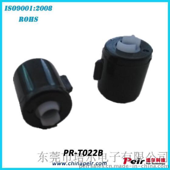 型号:PR-T022B | 规格:D13.5*H15.5mm | 商标:Peir/培尔 | 包装:500pcs/包,10包/箱 | 使用寿命:50000次 | 外壳/盖子材料:PC | 密封圈:硅胶圈 | 产品名称:PR-T022B卷帘门帘缓降稳速硅油液压塑料旋转阻尼铰链 | 颜色:黑色或者白色可选 | 阻尼油:硅油