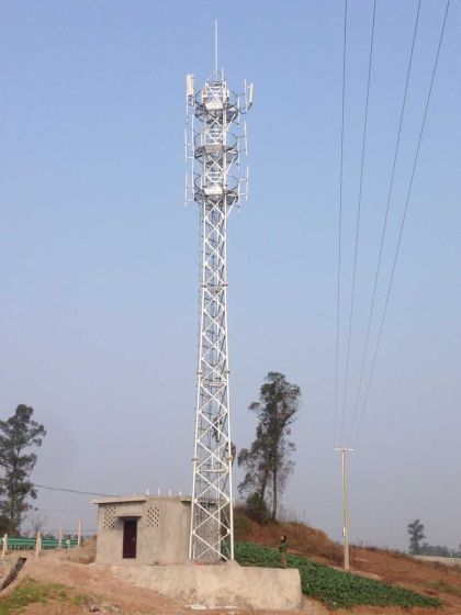 高品质生产通信塔,自立塔,角钢塔,三管塔